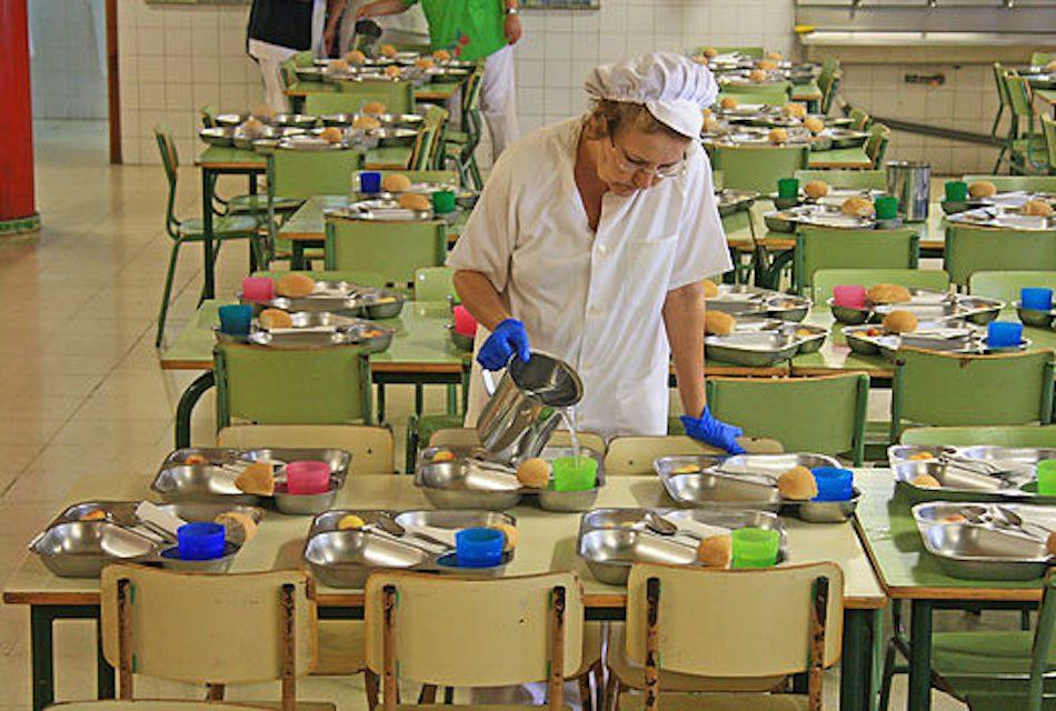 Comedores escolares con men ecol gico saboreando canarias - Comedores escolares xunta ...