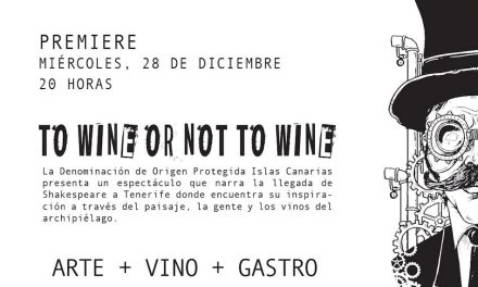 """TO WINE OR NOT TO WINE"" SE ESTRENA EN LA LAGUNA"