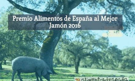 PREMIOS ALIMENTOS DE ESPAÑA AL MEJOR JAMÓN 2016