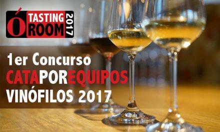1er CONCURSO DE CATA POR EQUIPOS «VINÓFILOS 2017»