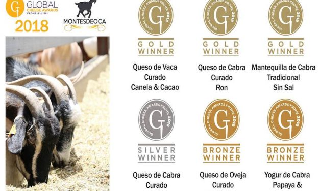 CANARIAS TRIUNFA EN LA GLOBAL CHEESE AWARDS 2018